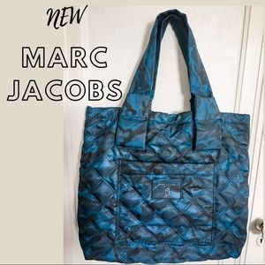 NWOT Marc Jacobs Double J Quilted Camo Large Tote